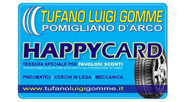 tufano gomme happy card